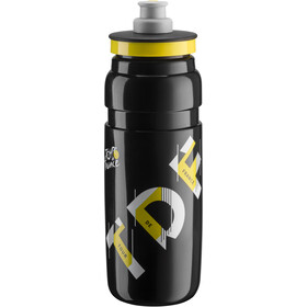 Elite Fly Bidon 750ml, TDF black 2019
